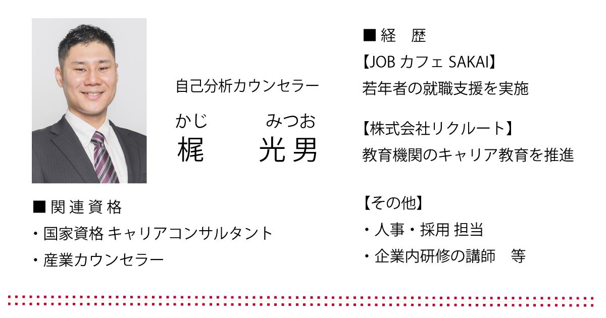 一般社団法人ブライトインク 代表理事 梶 光男(カジ ミツオ)